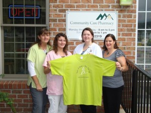 Community Care Pharmacy Donates to Run for It