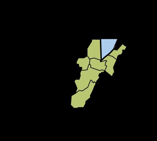 TCF Service Area