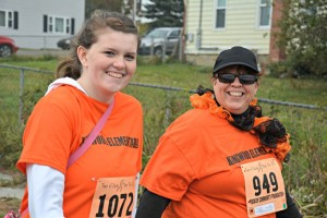 Carri and Jill Zeigler, Run For It 2015 Photo courtesy of Hilary Boyce