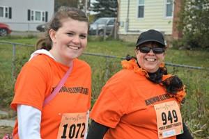 Carri and Jill Zeigler, Run For It 2015 Photo courtesy of Hilary Boyce